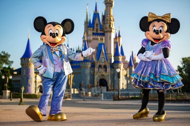 ウォルト・ディズニー・ワールド・リゾートが50周年。2021年10月1日から世界で一番マジカルなセレブレーションがスタート (C)Disneyの画像