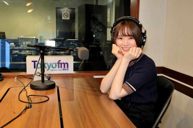 """『山崎怜奈の誰かに話したかったこと。』で""""昼の顔""""になって1年が経過した山崎怜奈(C)TOKYO FMの画像"""