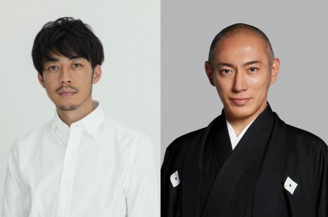 歌舞伎『プペル~天明の護美人間~』でタッグを組む(左から)西野亮廣、市川海老蔵の画像
