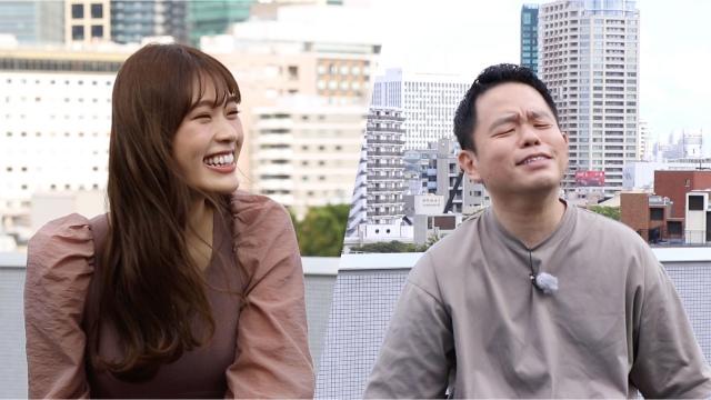 テレビ朝日『~凪咲と芸人~マッチング』より (C)テレビ朝日の画像