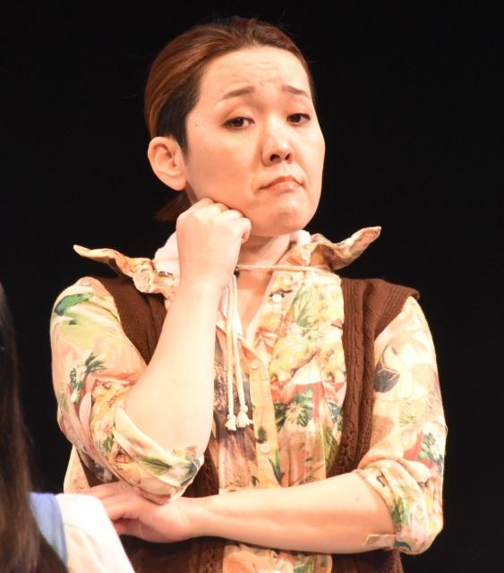 舞台『御手洗さん』に出演した隅田美保 (C)ORICON NewS inc.の画像