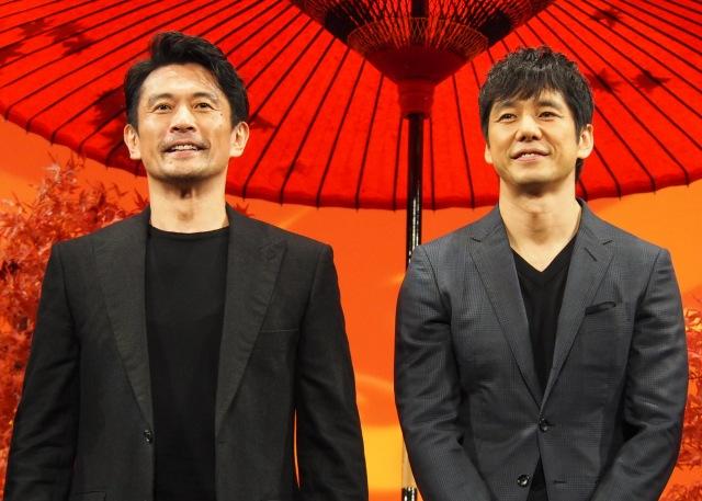京都ロケを振り返った(左から)内野聖陽、西島秀俊 (C)ORICON NewS inc.の画像