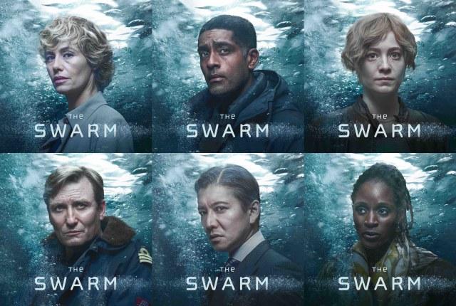 海洋SFサスペンス『THE SWARM』キャスト(C)Intaglio Films GmbH / ndF International Production GmbH / Julian Wagner / Leif Haenzoの画像