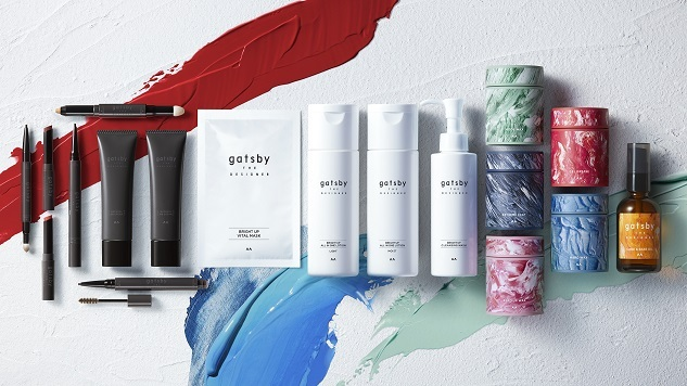 ギャツビーの新ライン『ギャツビー ザ デザイナー』が2021年10月7日(木)発売。の画像