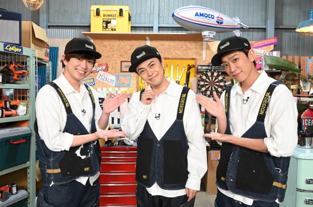 『NEWSの全力!! メイキング』に出演する加藤シゲアキ、勝地涼、小山慶一郎 (C)日本テレビの画像