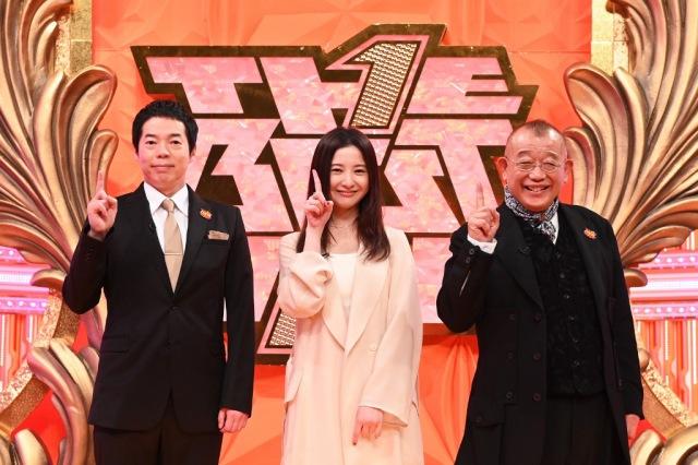 15日放送『ザ・ベストワン』に出演する(左から)今田耕司、吉高由里子、笑福亭鶴瓶&今田耕司 (C)TBSの画像