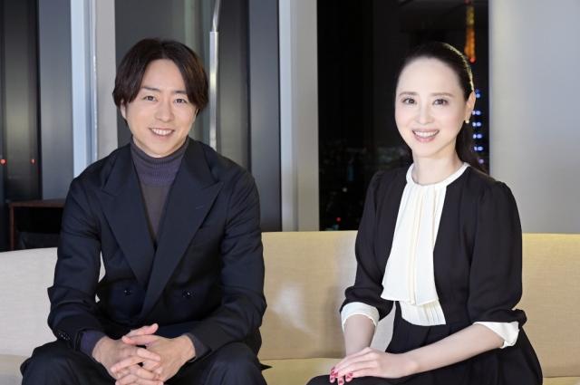 14日放送『櫻井・有吉THE夜会』に出演する(左から)櫻井翔、松田聖子 (C)TBSの画像