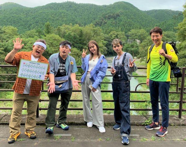 (左から)伊達みきお、富澤たけし、藤田ニコル、高地優吾、松岡修造(C)テレビ朝日の画像