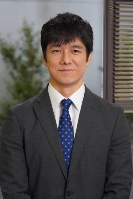 新日曜ドラマ『真犯人フラグ』主演を務める西島秀俊 (C)日本テレビの画像