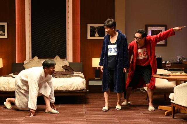 コント番組『東京03とスタア』に光石研が登場(C)日本テレビの画像
