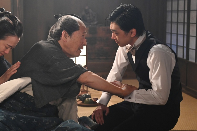 『青天を衝け』第30回「渋沢栄一の父」より(C)NHKの画像