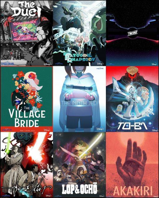 『スター・ウォーズ:ビジョンズ』ディズニープラスで独占配信中(C)2021 TM & (C) Lucasfilm Ltd. All Rights Reserved.の画像
