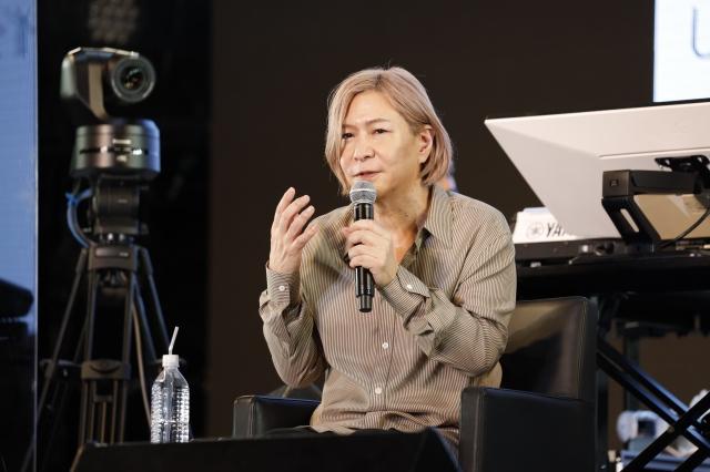 『J-WAVE INNOVATION WORLD FESTA 2021』に出演した小室哲哉 Photo by アンザイミキの画像