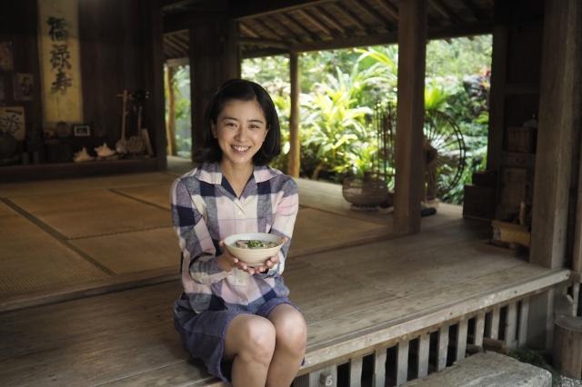 連続テレビ小説『ちむどんどん』クラインクインを迎えたヒロイン・黒島結菜 (C)NHKの画像