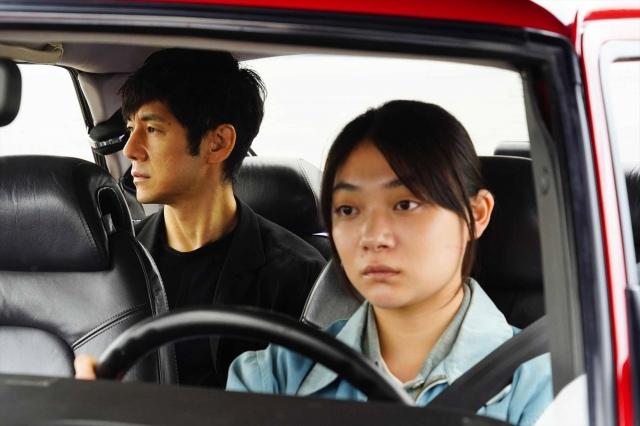 主演した映画『ドライブ・マイ・カー』(公開中)(C)2021 『ドライブ・マイ・カー』製作委員会の画像
