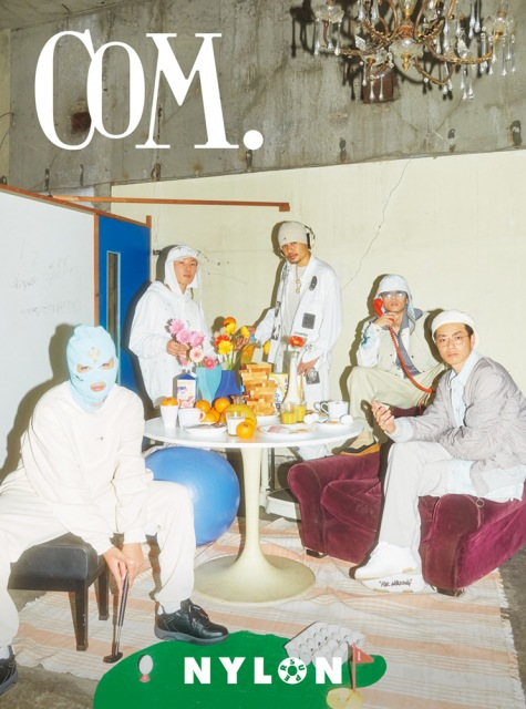『NYLON JAPAN』別冊『NYLON SUPER VOL.8』表紙を飾るコムドット (C)NYLON SUPERの画像