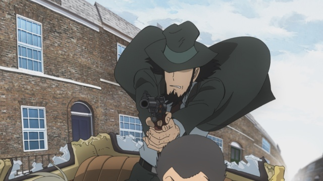 『ルパン三世 PART6』第1話場面カット 原作:モンキー・パンチ (C)TMS・NTVの画像