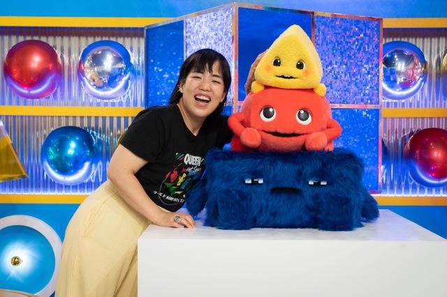 『ワケあって、このカタチなの。』で「カタチさま」の声を担当するゆりやんレトリィバァ(C)NHKの画像