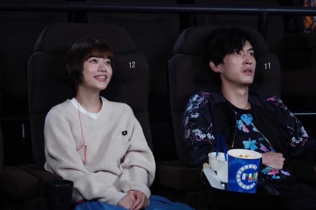 13日放送の『恋です!~ヤンキー君と白杖ガール~』に出演する杉咲花、杉野遥亮 (C)日本テレビの画像
