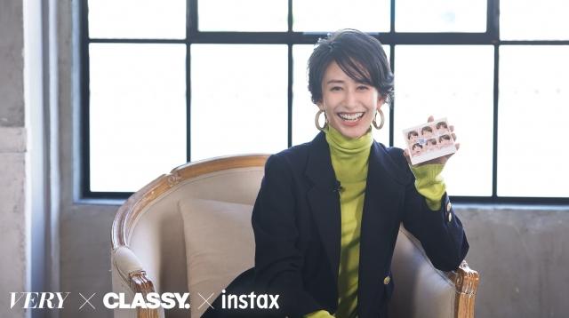 """『instax""""チェキ""""』新製品発表会に登場した神山まりあの画像"""