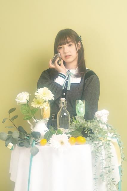 グループ卒業を発表した翡翠キセキ・佐藤碧依の画像