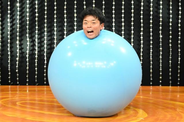 『あらびき団』に出演する風船太郎(C)TBSの画像