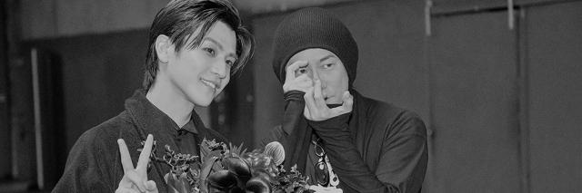 岩田剛典4th写真集発売が決定(左から)岩田剛典、永瀬正敏