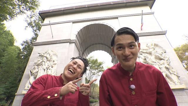 『ちょいバラ』の「RPGコウテイ君」に出演するコウテイ(左から)下田真生、九条ジョー(C)ABCテレビの画像