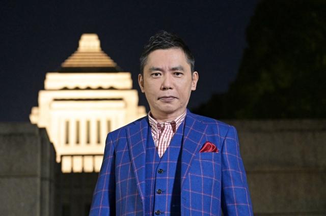 31日放送の選挙特番『選挙の日 2021 太田光と問う!私たちのミライ』に出演する太田光(C)TBSの画像