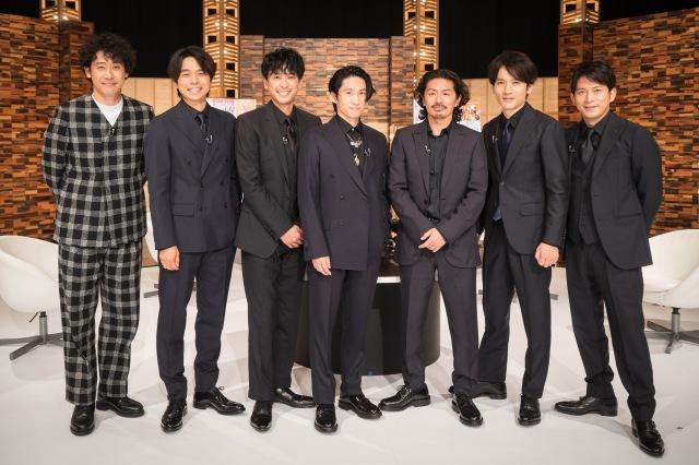 21日放送『SONGS』にV6が登場 (C)NHKの画像
