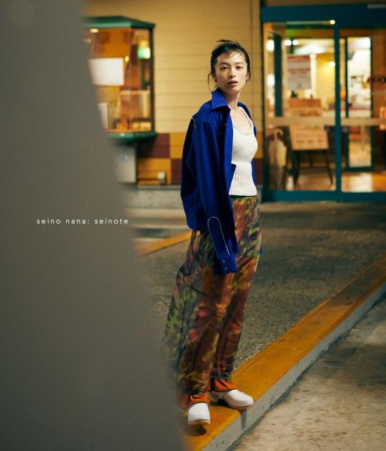 清野菜名 1st Photo BOOK『セイノート』通常版表紙の画像