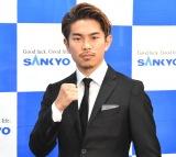 井岡一翔選手が第1子誕生を報告「妻と子供に尊敬と感謝」