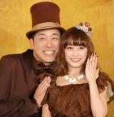 あべこうじ、高橋愛夫妻(写真は2014年撮影)(C)ORICON NewS inc.の画像