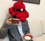 シャア専用ザクニット帽 制作・画像提供/なみお氏 (C)創通・サンライズの画像