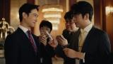 堺雅人&及川光博がTVCM初共演「銀行の同期ではない役どころが新鮮で、終始楽しかった!」