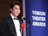 ジャニーズWEST小瀧望、杉村春子賞に感慨 『エレファント・マン』は「かけがえのない財産」