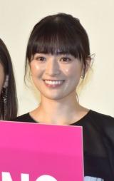 『NO CALL NO LIFE』完成披露上映会の舞台あいさつに参加した優希美青 (C)ORICON NewS inc.の画像