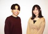 テレビアニメ『86-エイティシックス-』に出演中の(左から)千葉翔也、長谷川育美 (C)ORICON NewS inc.の画像