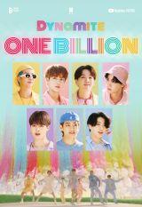 BTS 「Dynamite」のミュージックビデオ、が10億再生を突破 photo by Big Hit MUSICの画像