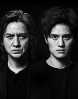 舞台『Le Fils 息子』で共演する(左から)岡本健一、岡本圭人の画像