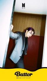 BTS、紫髪ジョングク&ピンク髪RMのソロ写真公開 新曲「Butter」ティザー