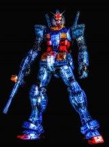『Cyber空間のガンダム』 制作・写真提供/DON-GURI氏 (C)創通・サンライズの画像