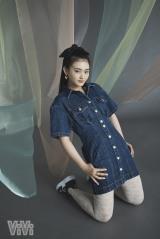 『ViVi』7月号に登場する櫻坂46・山崎天の画像