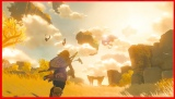 『ゼルダの伝説 ブレス オブ ザ ワイルド』続編の新映像の画像