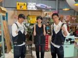 25日、7月9日放送『NEWSの全力!! メイキング』に出演するNEWSの加藤シゲアキ、山本美月、小山慶一郎 (C)TBSの画像