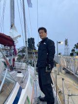 辛坊治郎、米・サンディエゴから日本に向けてヨットで出発(C)ニッポン放送の画像