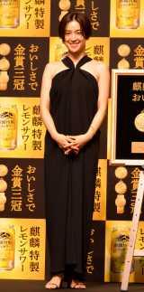 肩出しドレスで登場した中村アン (C)ORICON NewS inc.の画像