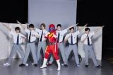 『ザ・ハイスクール ヒーローズ』美 少年、アカレンジャーと感動の初対面「スターだね」【全員コメントあり】