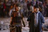 映画『妖怪大戦争 ガーディアンズ』(8月13日公開)(左から)主人公・渡辺ケイ(寺田心)と弟・ダイ(猪股怜生)(C)2021『妖怪大戦争』ガーディアンズの画像