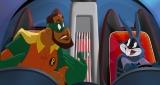 """映画『スペース・プレイヤーズ』(8月27日公開)""""バットマン""""のオマージュシーン(C)2021 Warner Bros. Entertainment Inc. All Rights Reserved.の画像"""